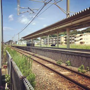 福岡の加布里駅